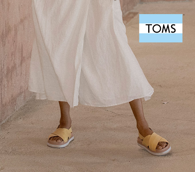New Arrivals from Toms