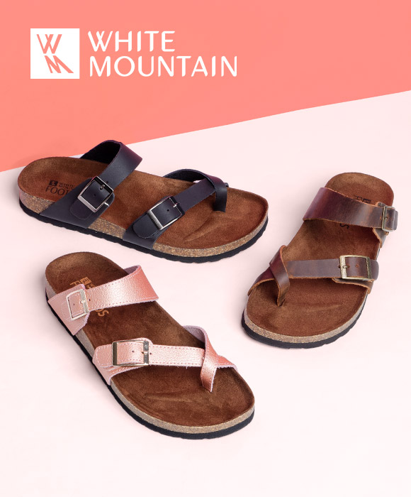 5b01c1c1068f White Mountain sandals under  40