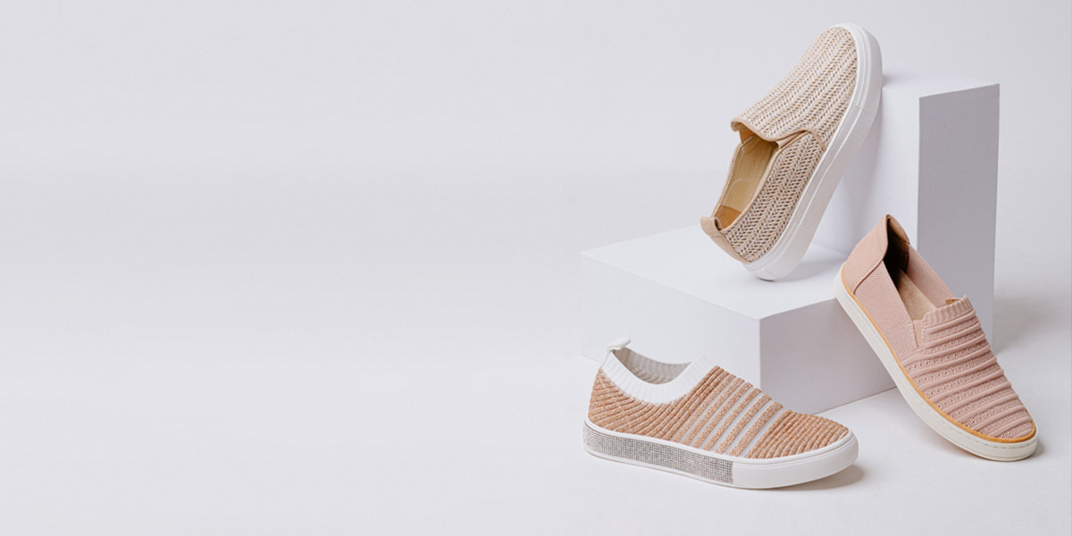 Keep it simple with these slip-on sneakers