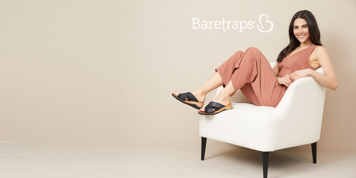 Shop these easy going sandals from Baretraps.