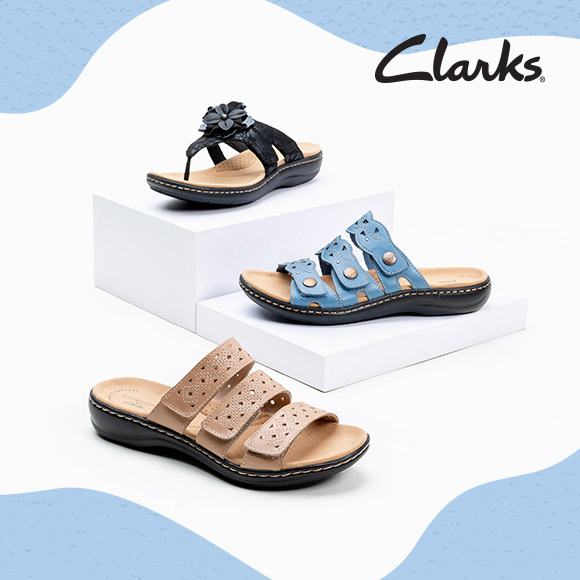 Clarks Starting at $40 - Shop Now