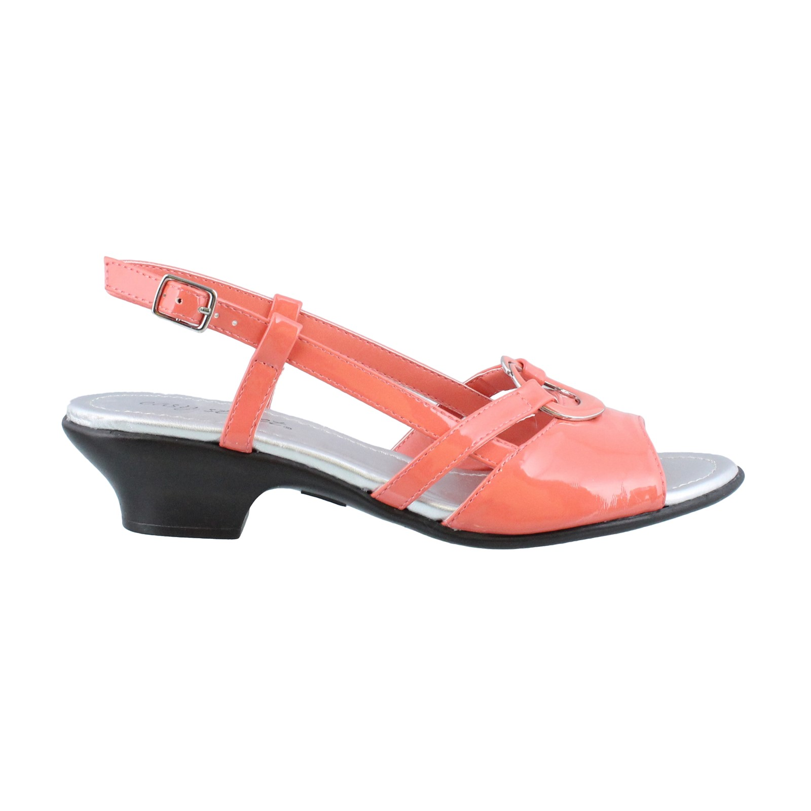 Women's Easy Street, Tempe Low Heel Slingback Sandals