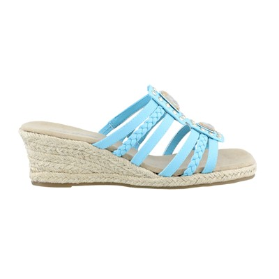 Women's Easy Street, Bazinga Mid Heel Slide Sandals