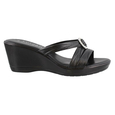 Women's Tuscany by Easy Street, Cristallo Wedge Sandal