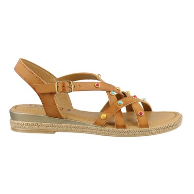 Women's Easy Street, Renata Low Heel Sandals