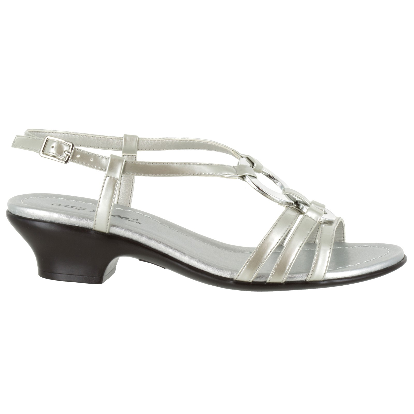 Women's Easy Street, Selena Low Heel Sandal