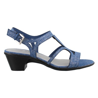Women's Easy Street, Britney Mid Heel Sandals