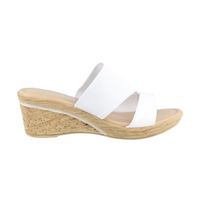 Women's Tuscany by Easy Street, Adagio Mid Heel Slide Sandals