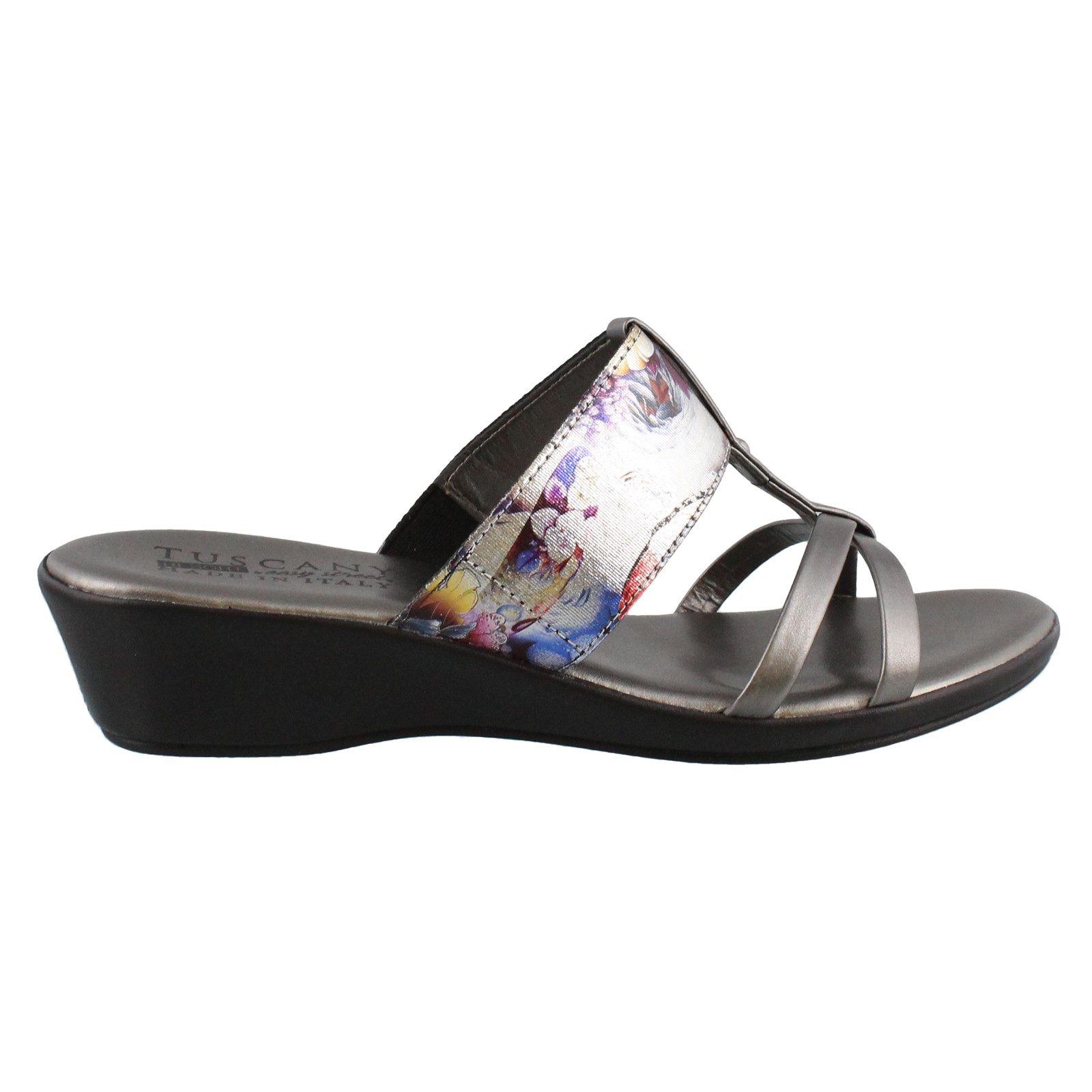 Women's Easy Street, Brio Low Heel Wedge Sandals