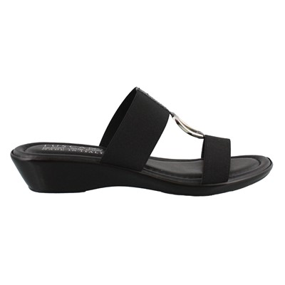 Women's Tuscany by Easy Street, Donata Low Heel Sandals