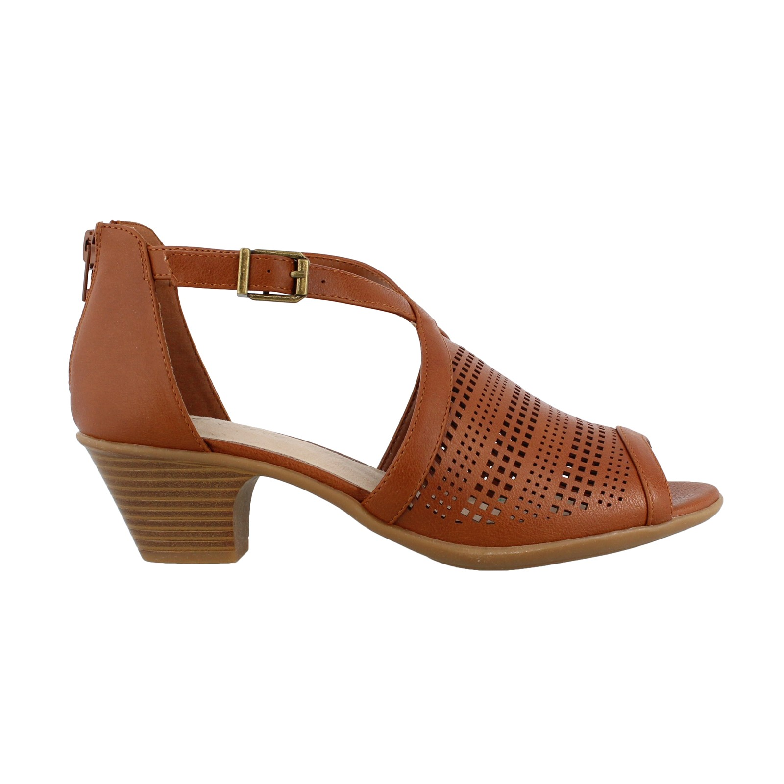 Women's Easy Street, Anita Mid Heel Sandals
