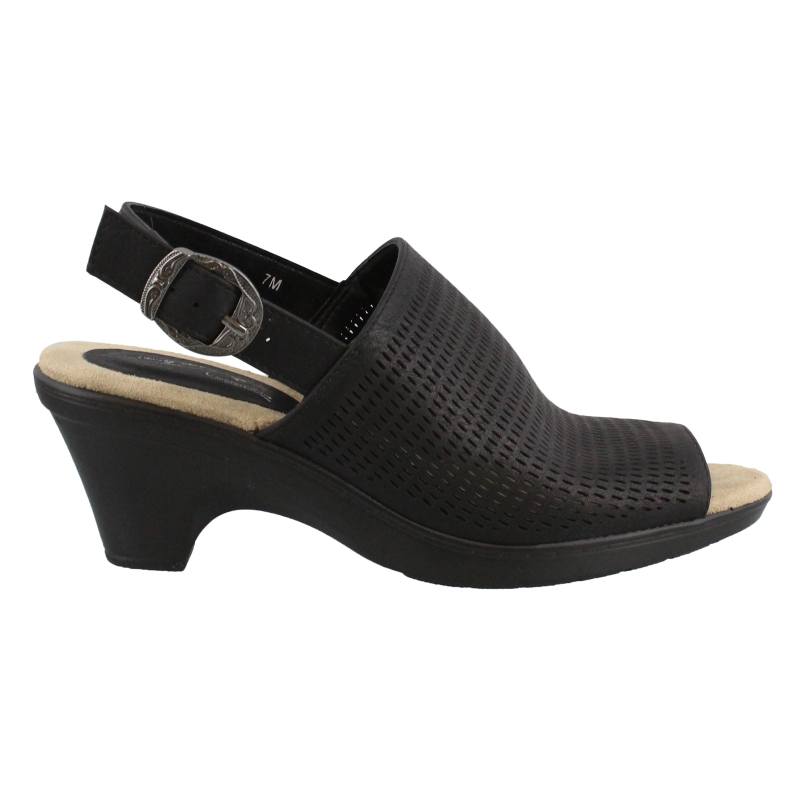 Women's Easy Street, Jessie Mid Heel Sandals