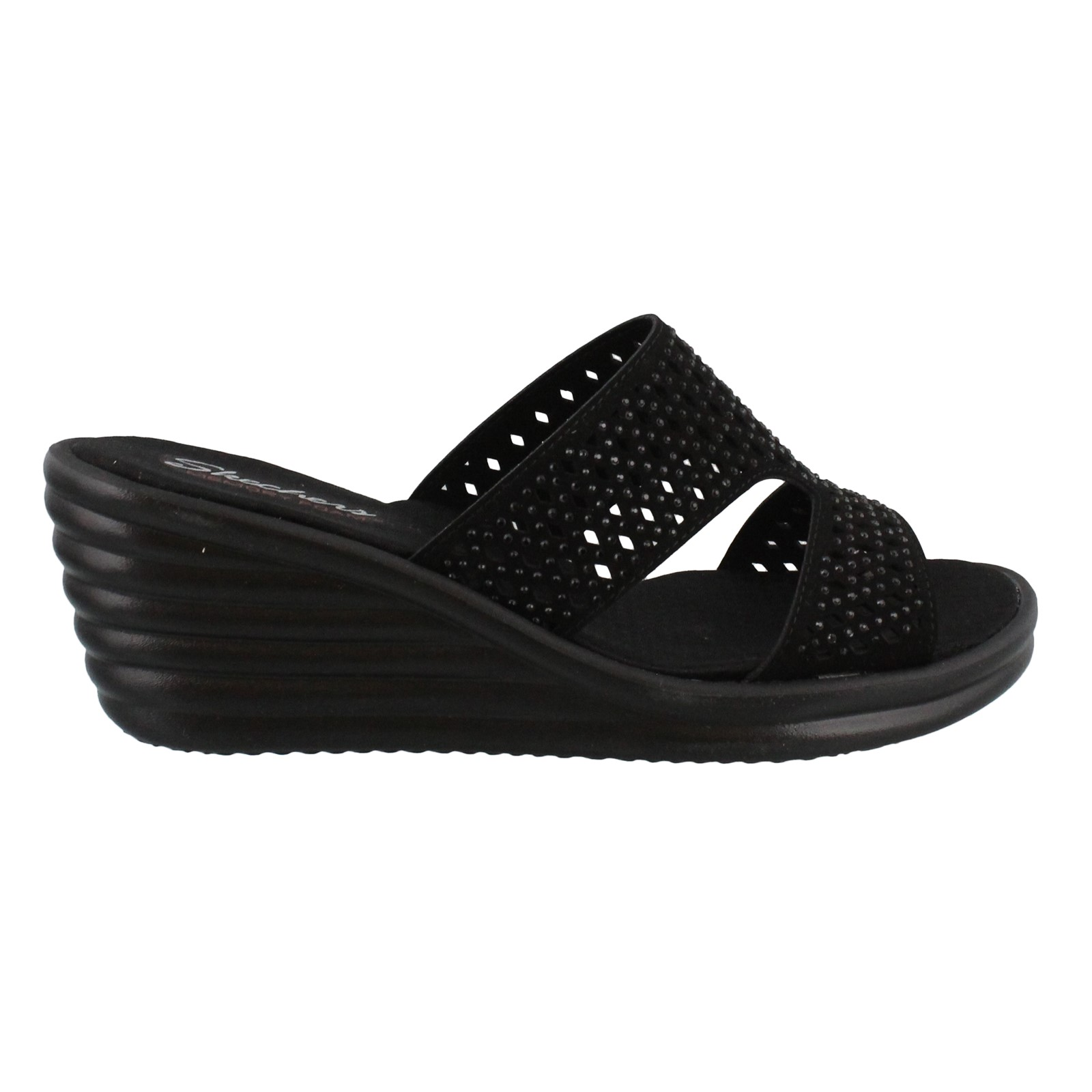 Women's Skechers, Rumbler Wave Ibiza Summer Wedge Sandals