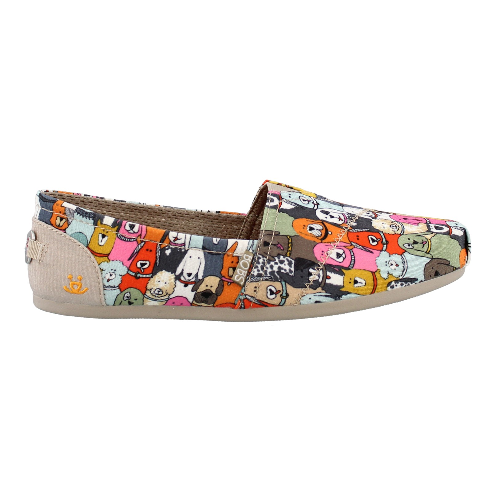 Women's Skechers, Bobs Plush Wag Party Slip on Shoes