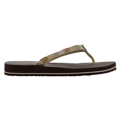 Women's Skechers, Meditation Smooth Sails Thong Sandals