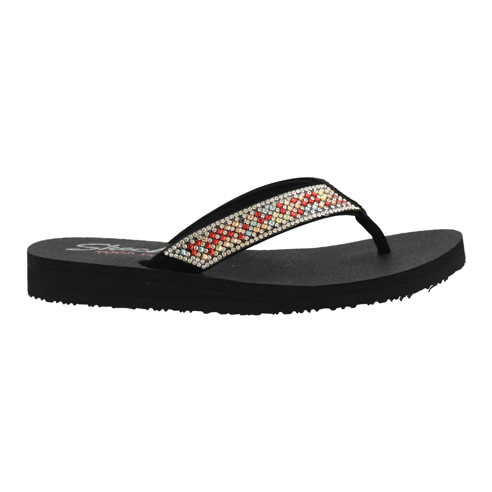 Women's Skechers, Mediation Star Power Thong Sandals