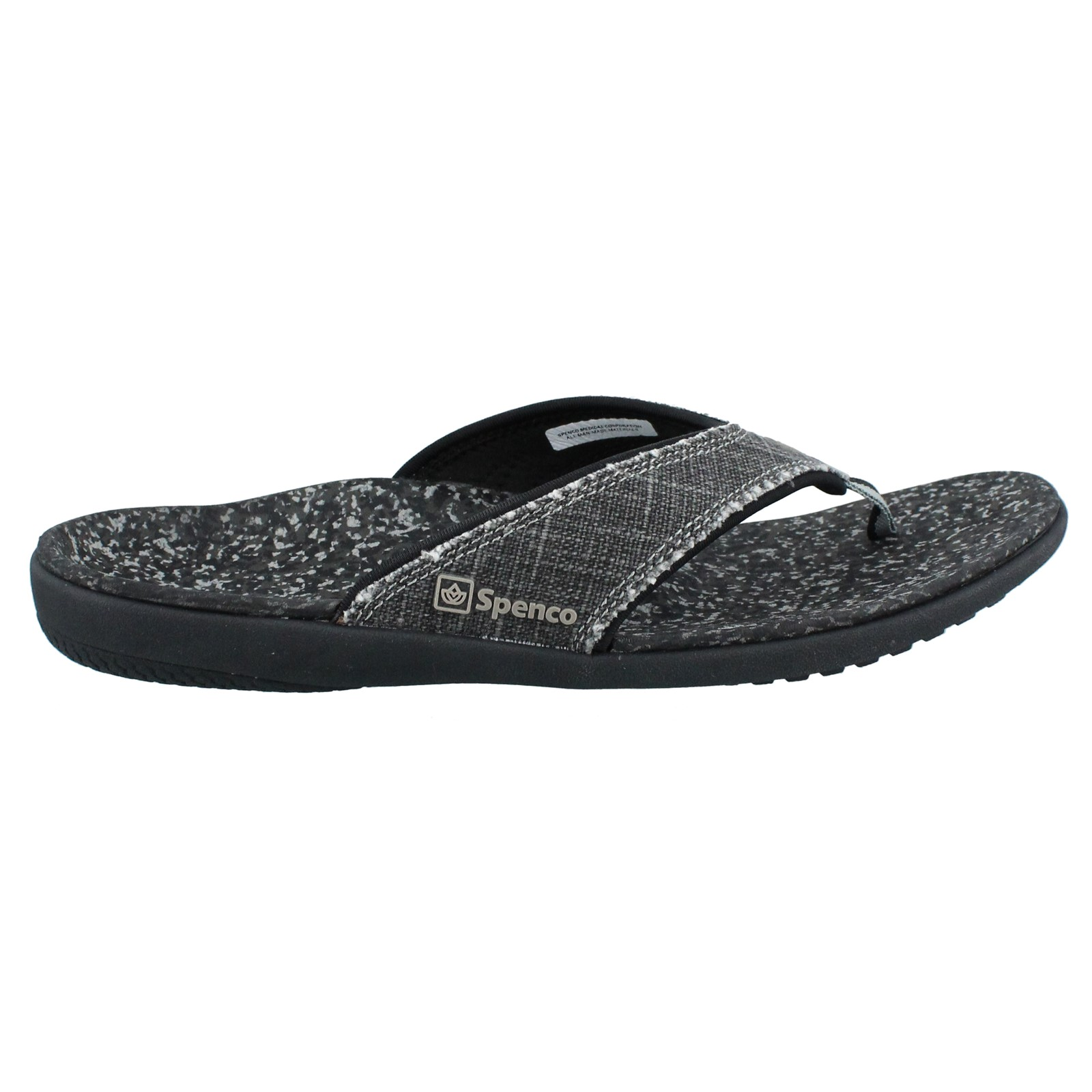 Men's Spenco, Yumi canvas Thong Sandals