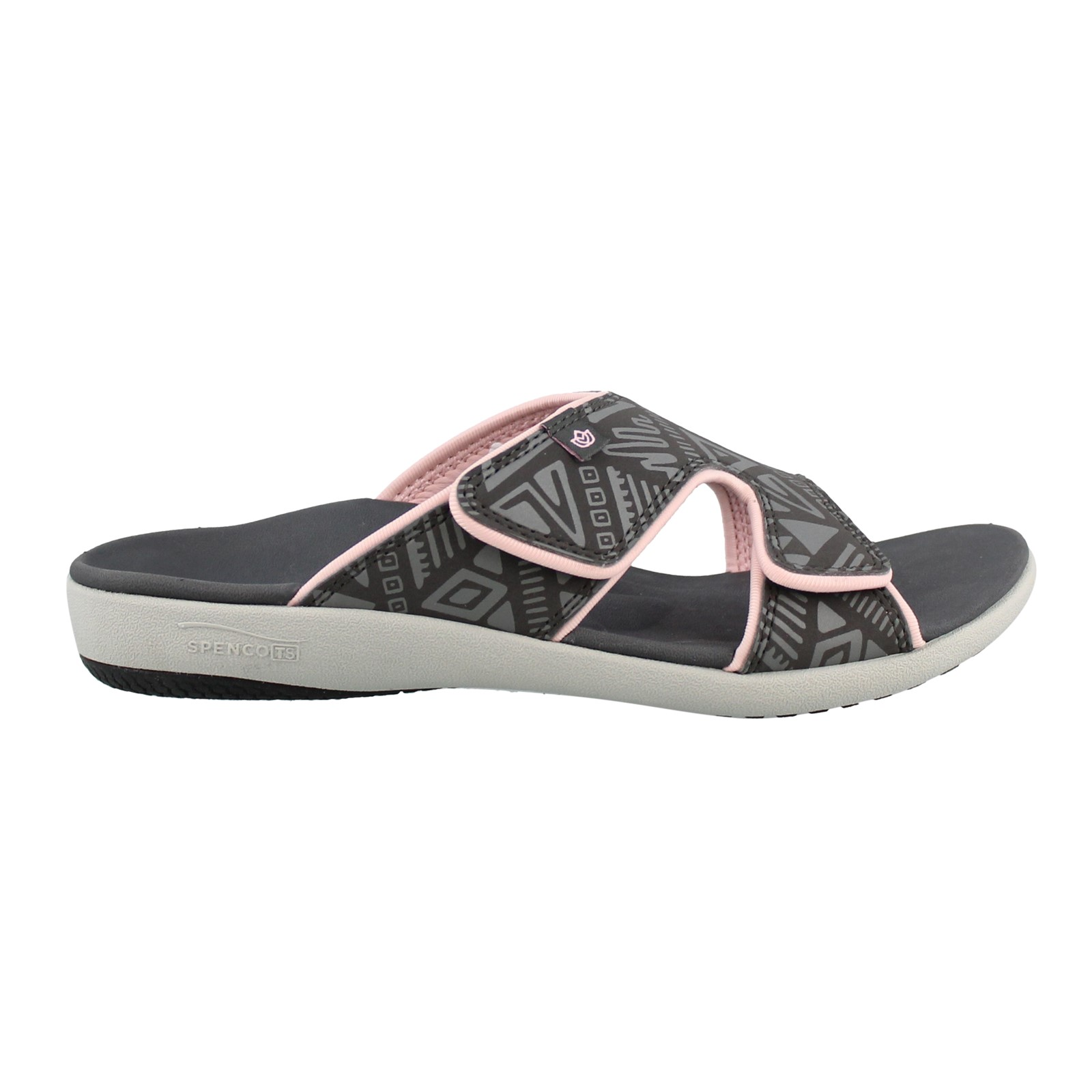 Women's Spenco, Tribal Slide Sandals