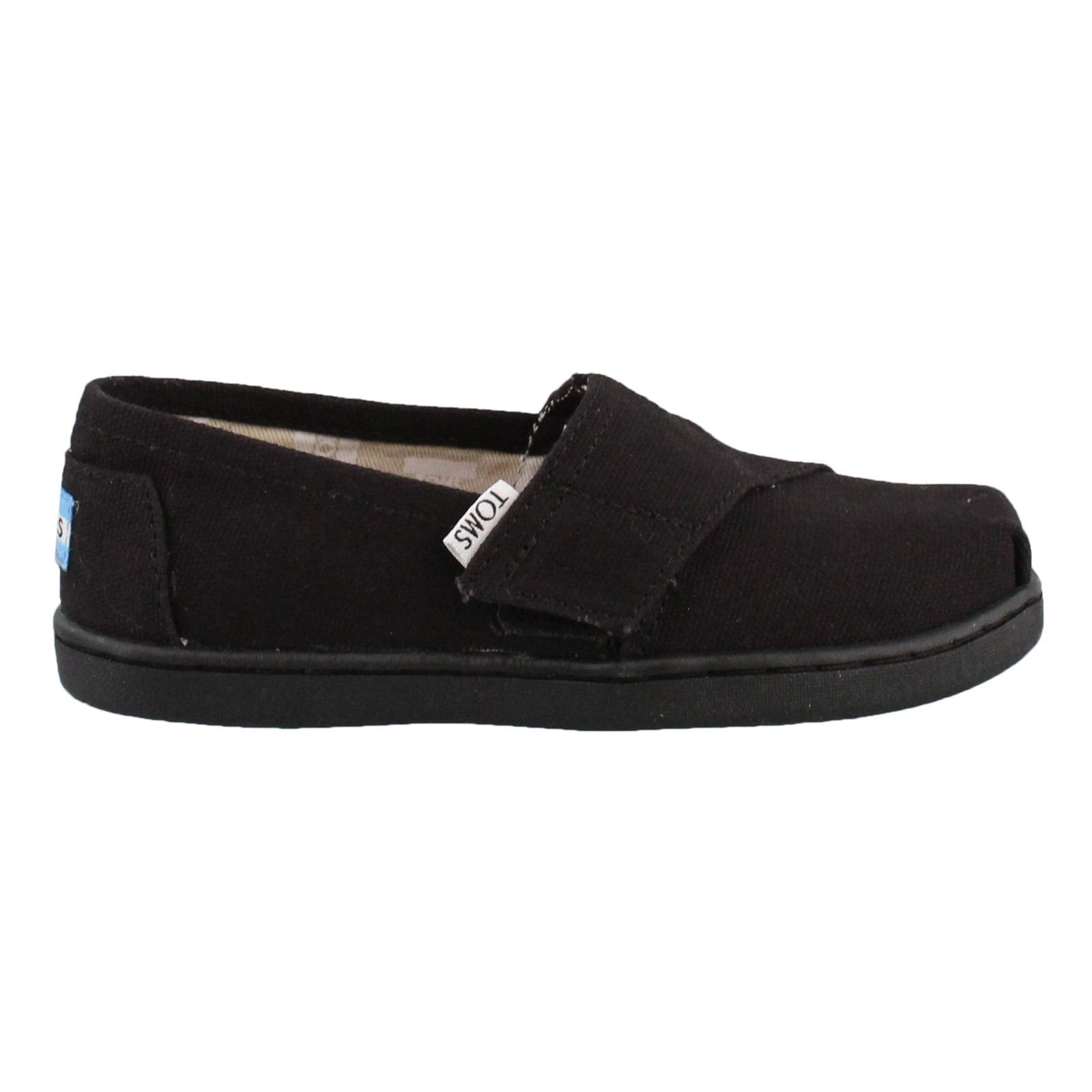 Girl's Toms, Alpargata Tiny Slip on Shoes