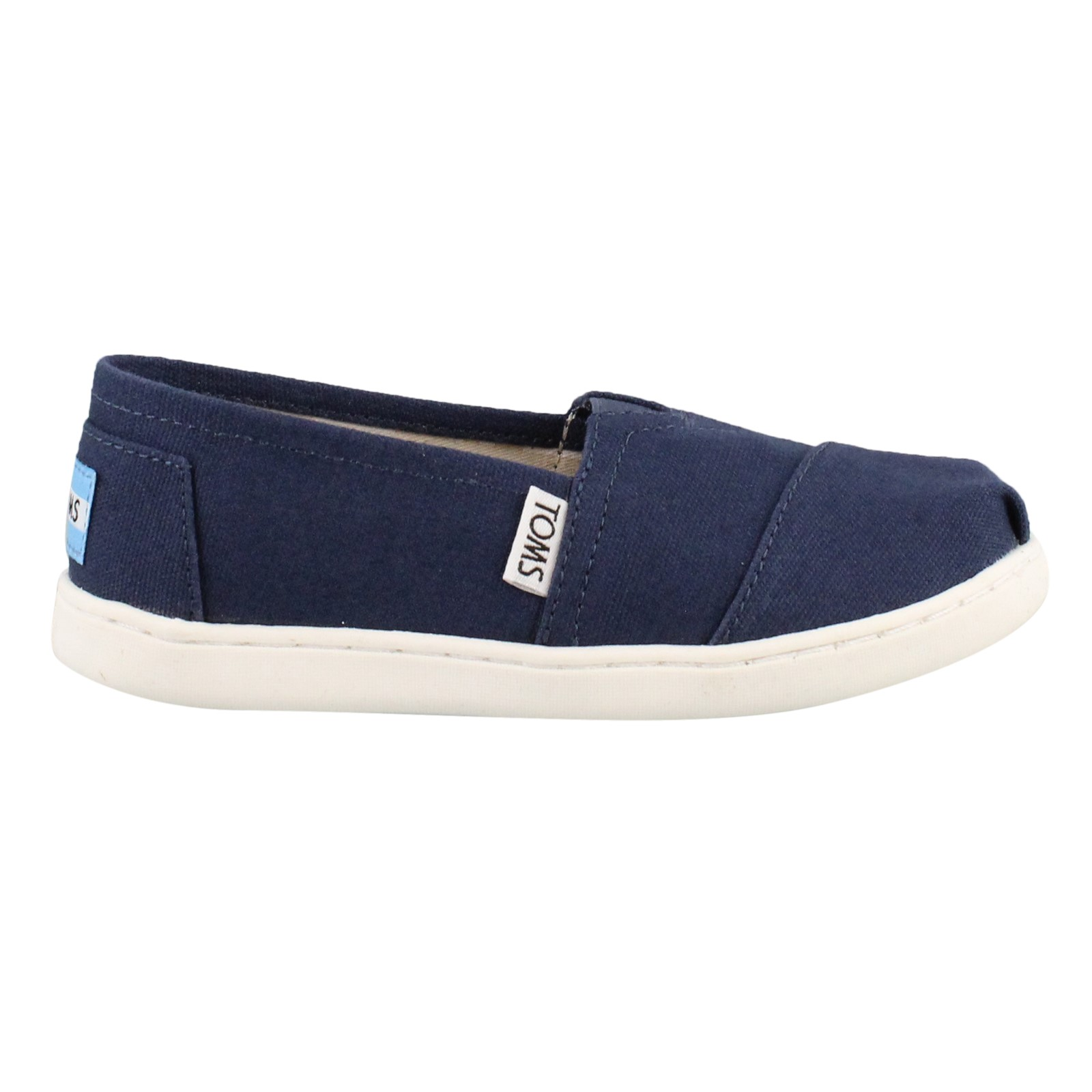 Girl's Toms, Alpargata Classic Slip on Shoes
