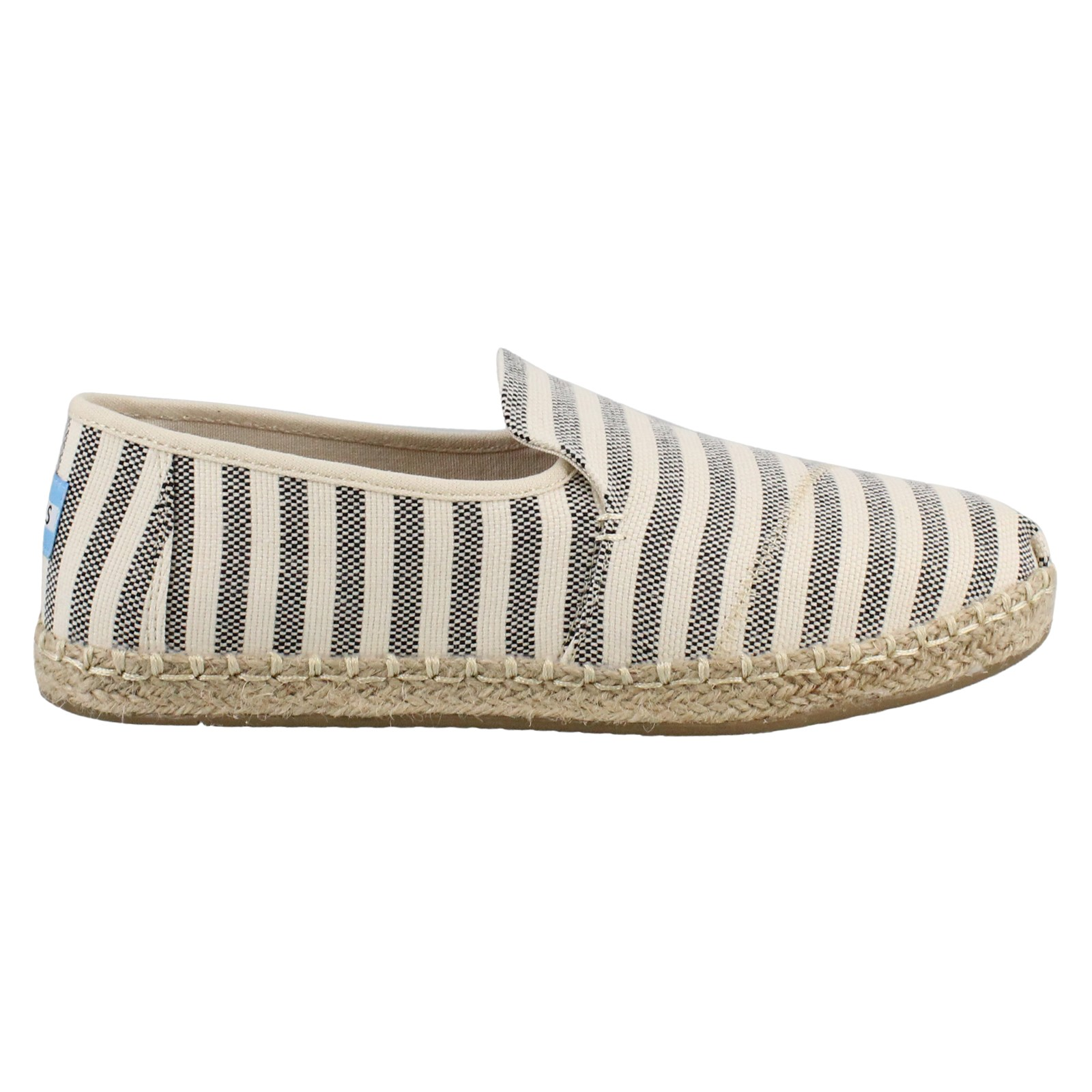 Women's Toms, Deconstructed Alpargatas Slip on Shoes