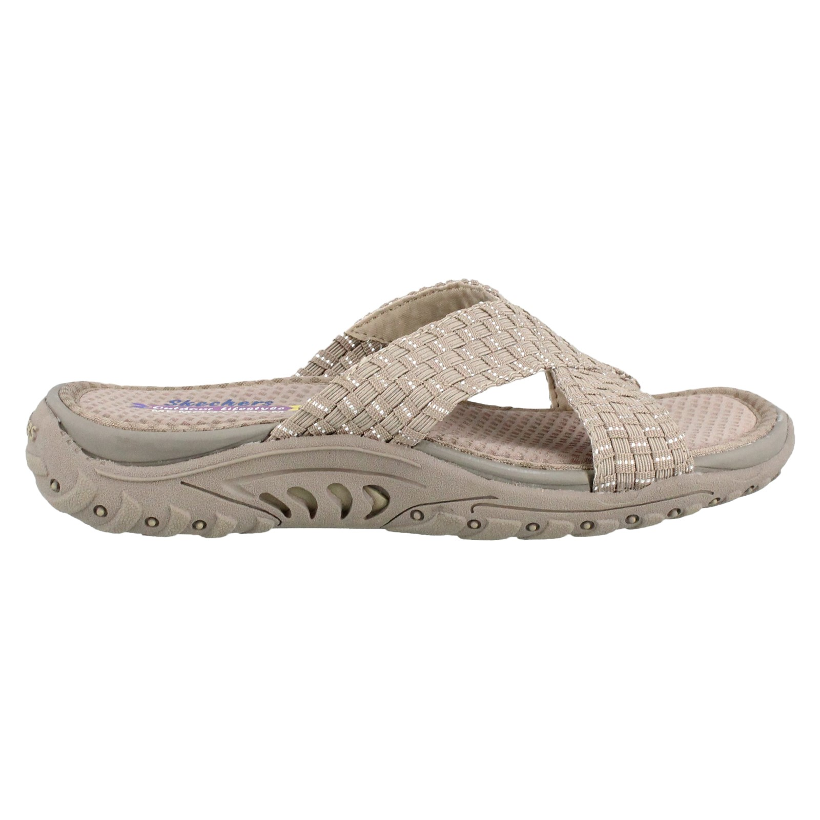 Women's Skechers, Reggae Rootsy Vibe Slide Sandals