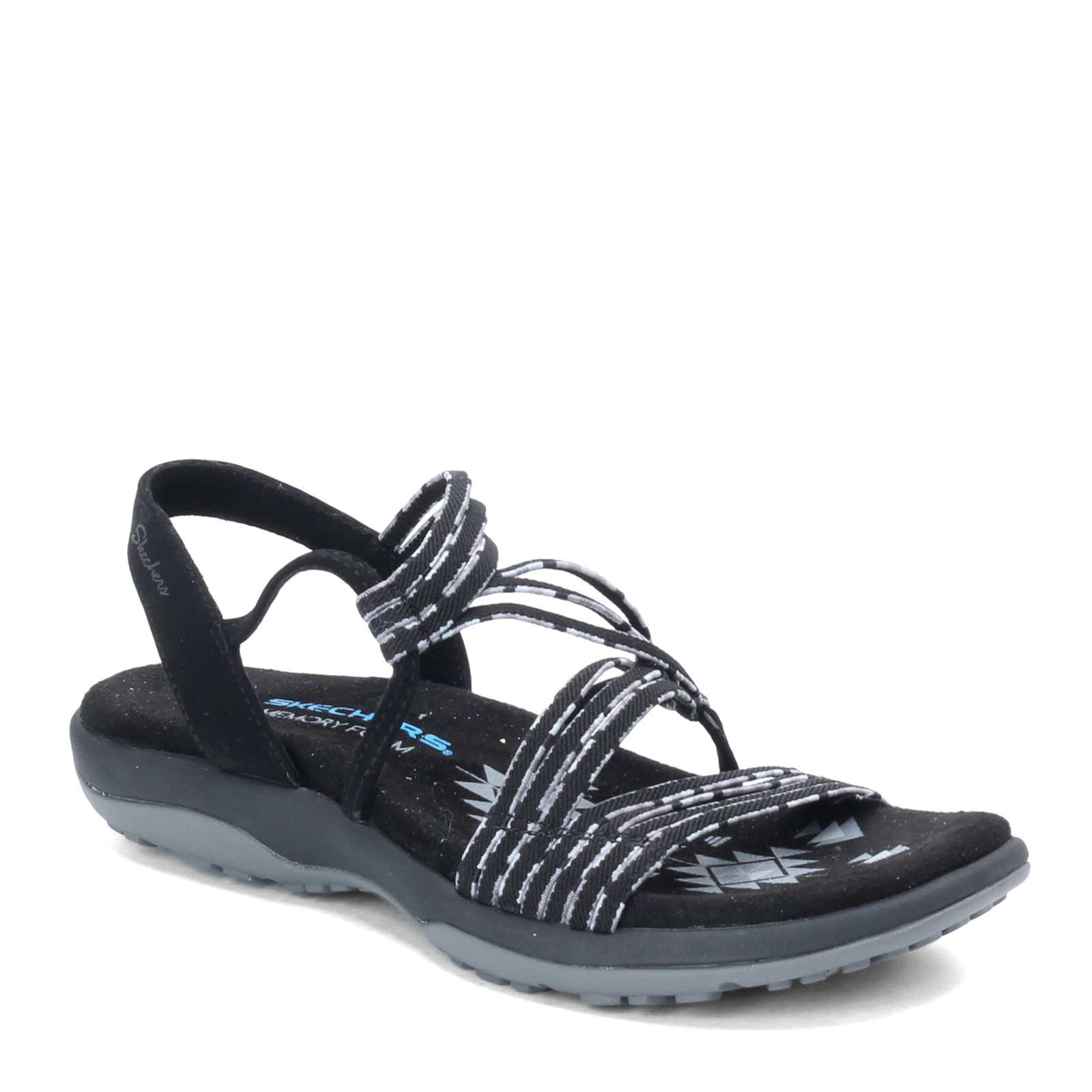 842709224a441 Home; Women's Skechers, Reggae Slim Stretch Appeal Sandals. Previous.  default view ...