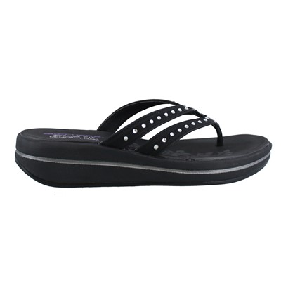 Women's Skechers, Upgrades Be Jeweled Thong Sandals