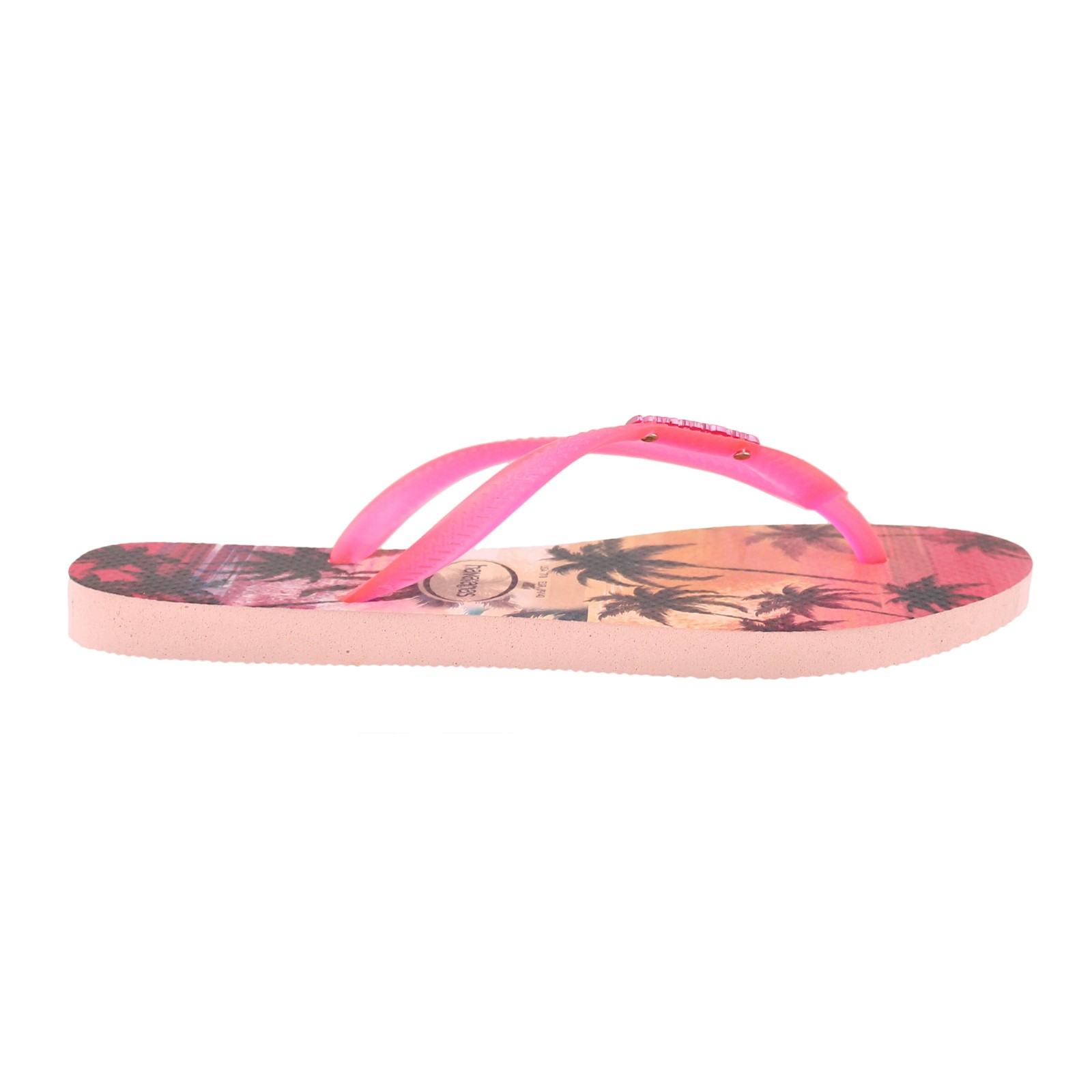 Ladies Havaianas Slim Paisage Thong Toe Post Holiday Summer Sandals All Sizes