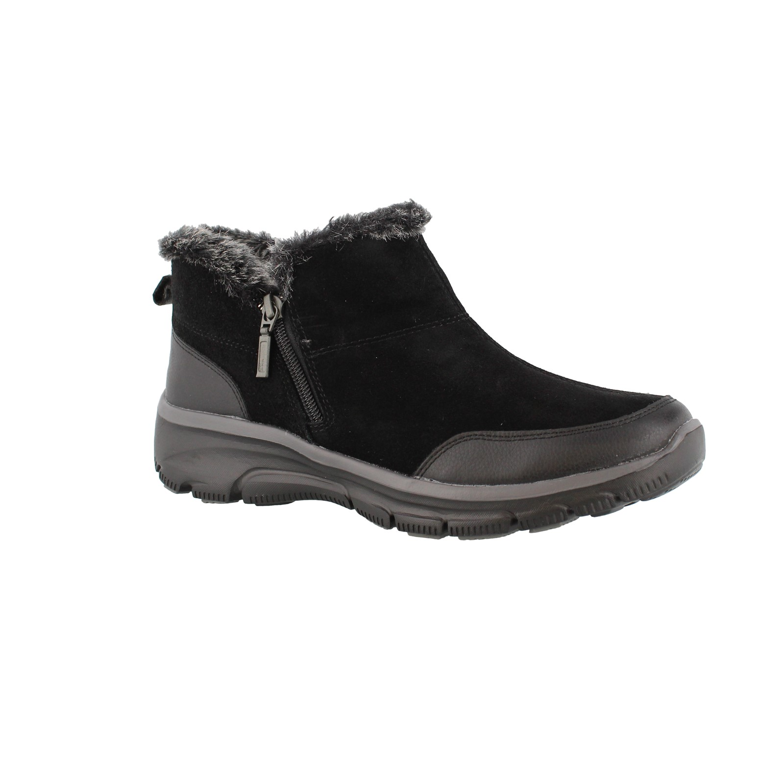Women's Skechers, Relaxed Fit Easy Going Zip It Ankle Boots
