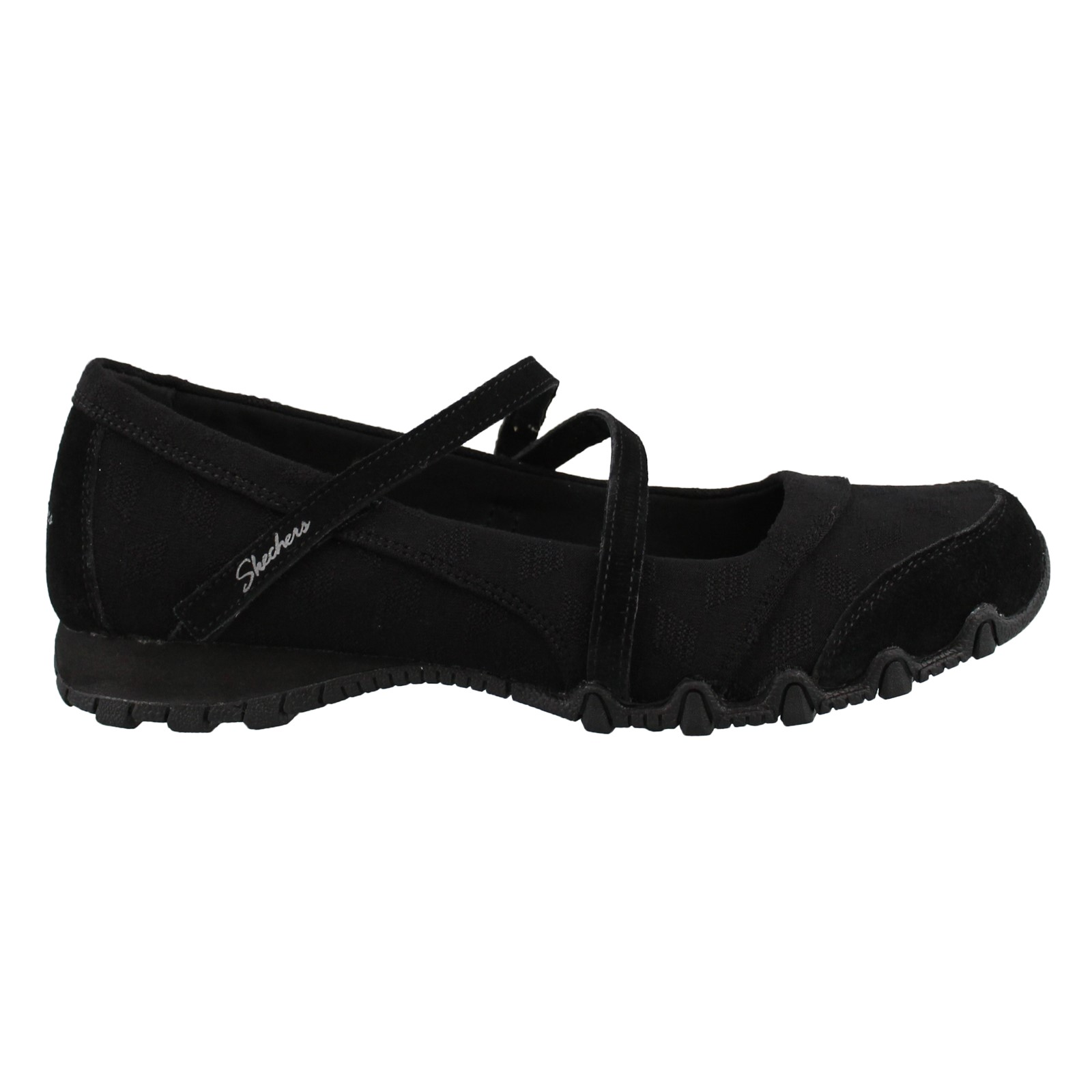 Women's Skechers, Bikers Get Up Slip on Shoes