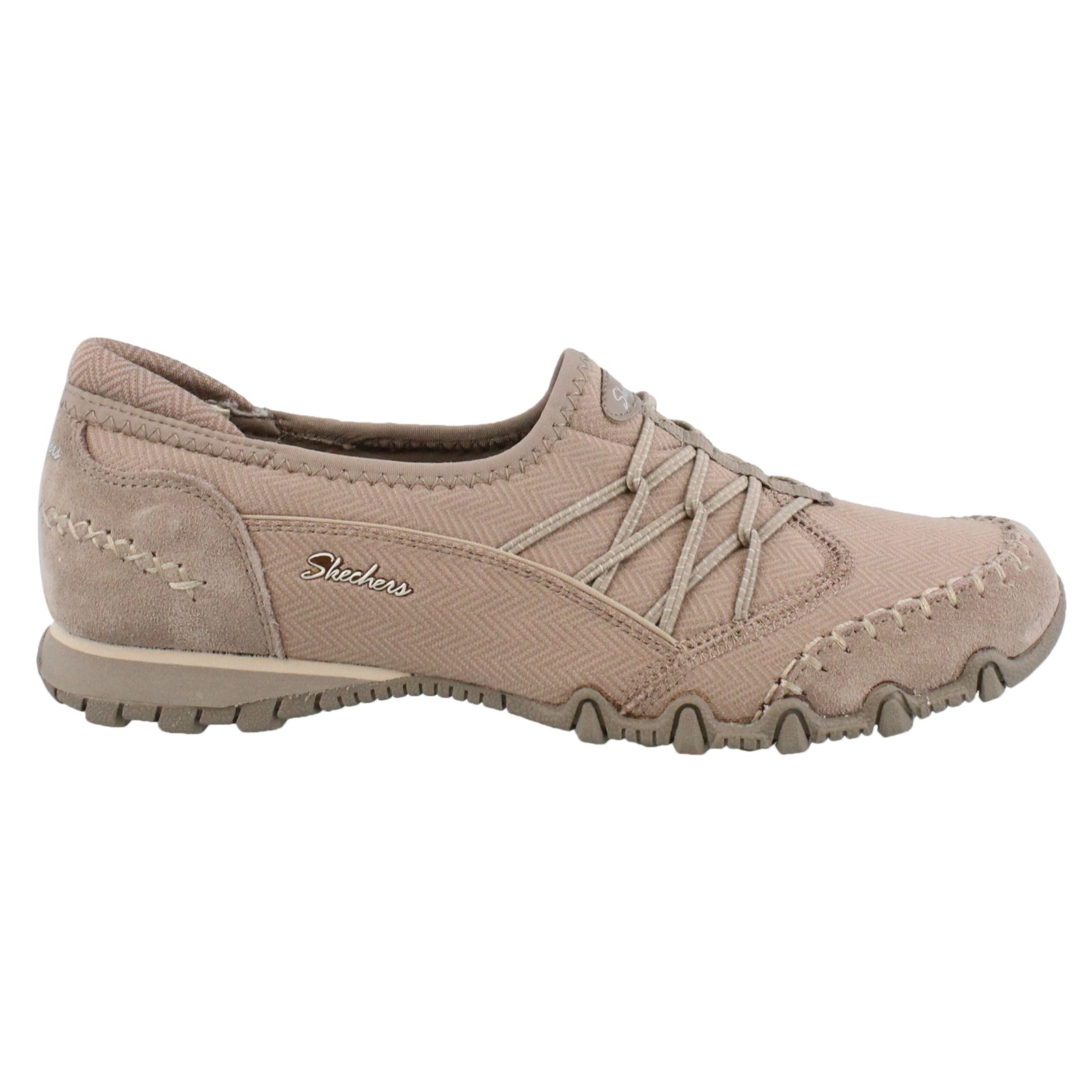 Women's Skechers, Bikers Double Digits Slip on Shoes