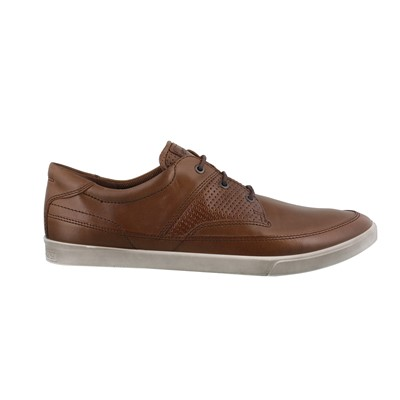 Men's Ecco, Collin Nautical Perforated Shoes