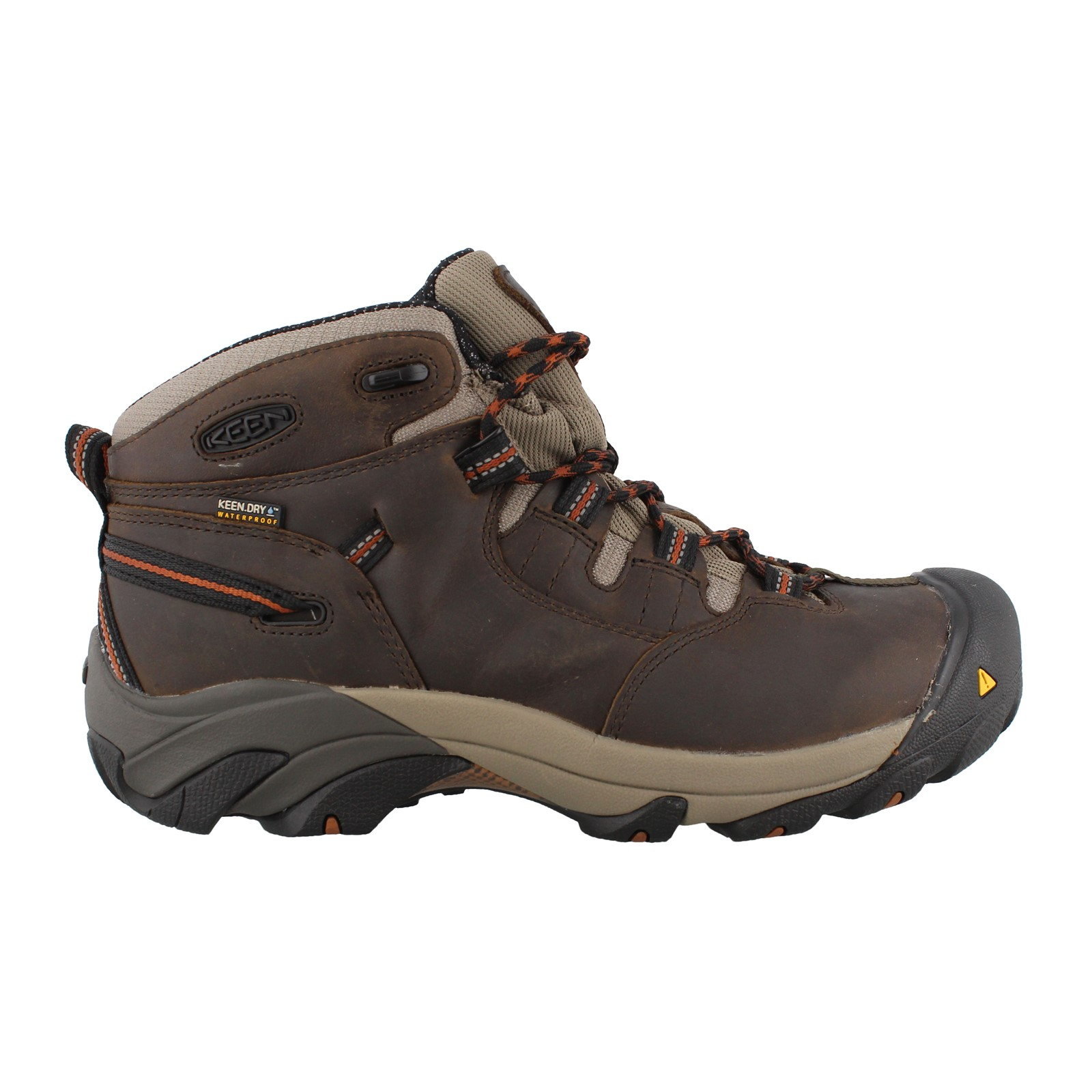 Men's Keen, Detroit Mid Soft Toe Work Boots
