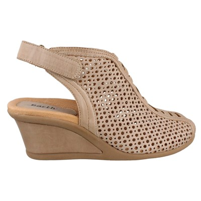 Women's Earth, Calla Mid Heel Wedge Sandal