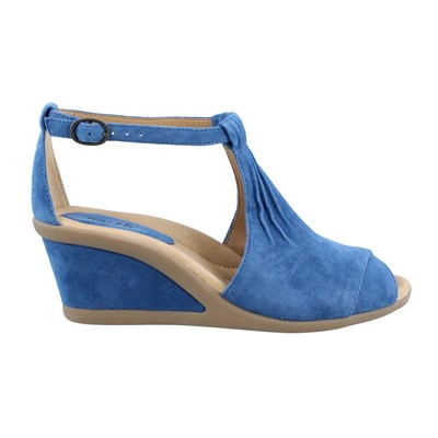 Women's Earth, Caper Mid Heel Wedge Sandal