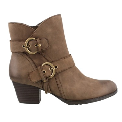 Women's Earth, Olive Ankle Boot