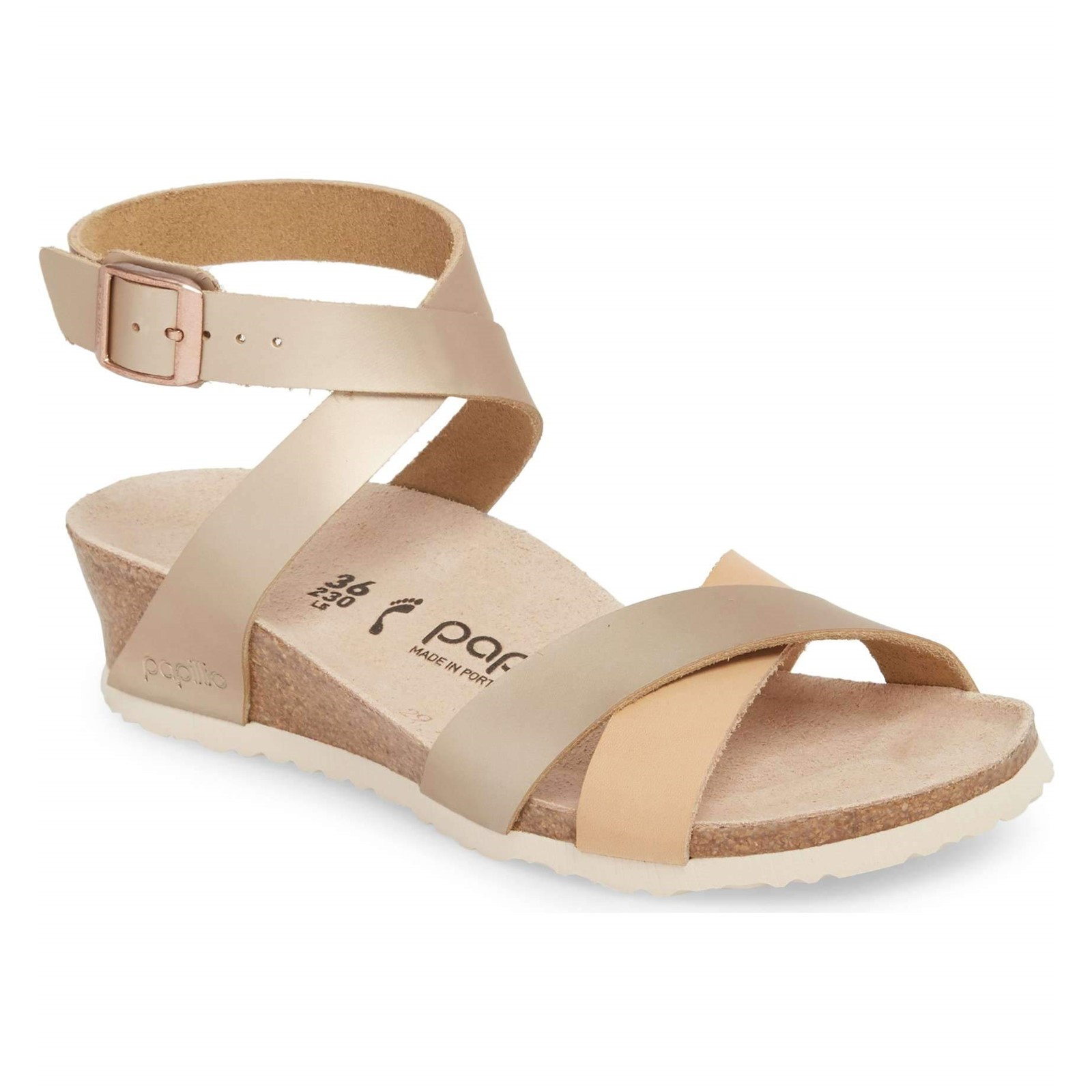 Women's Birkenstock, Lola Low Heel Wedge Sandals