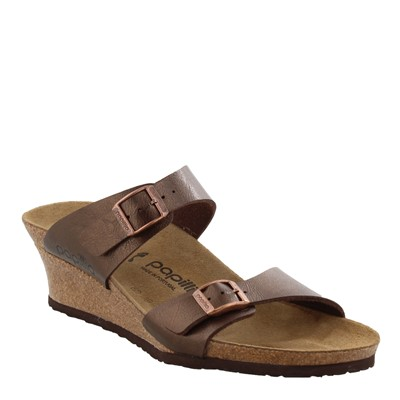 Women's Papillio by Birkenstock, Dorothy Mid Heel Wedge Sandals