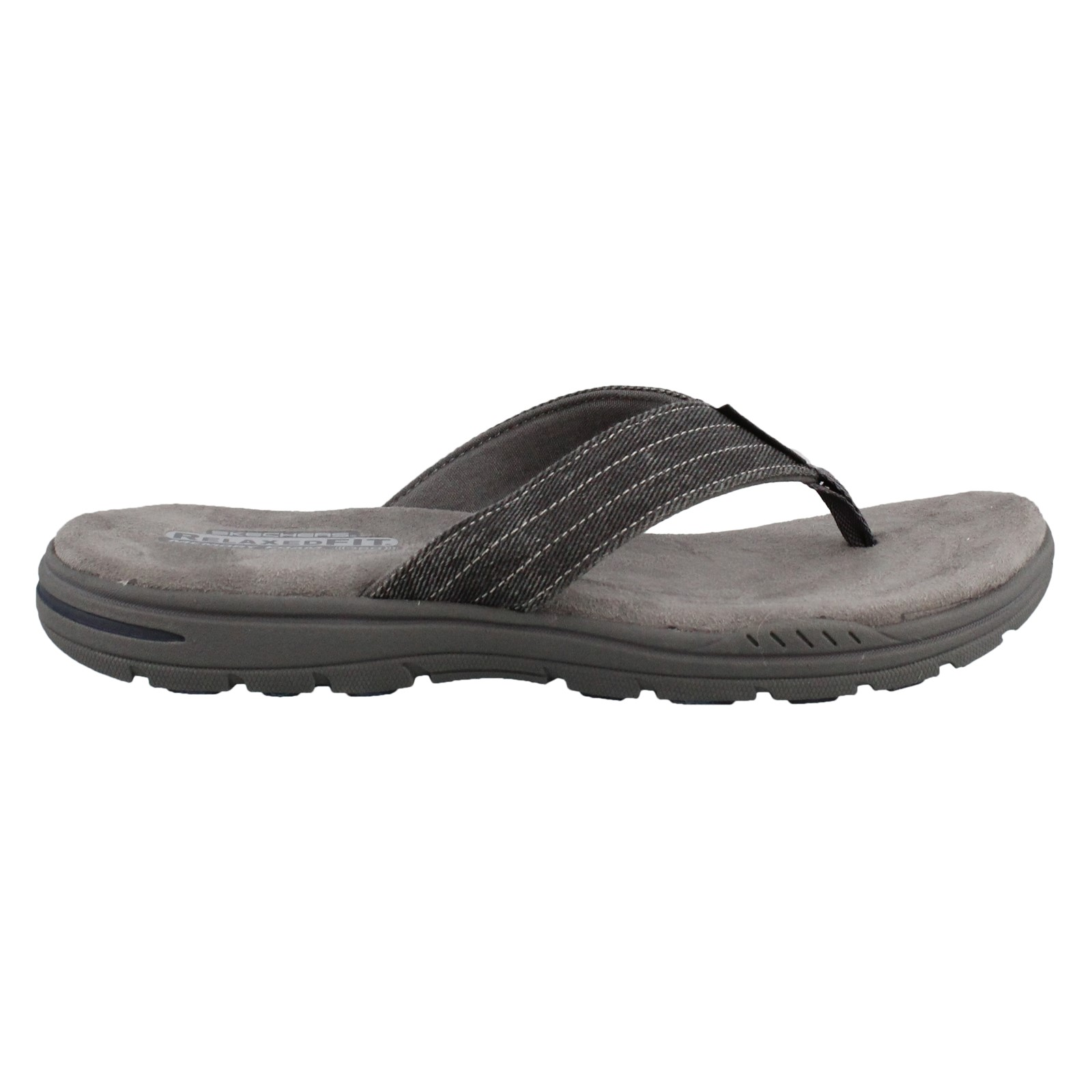 Men's Skechers, Evented Rosen Thong Sandals
