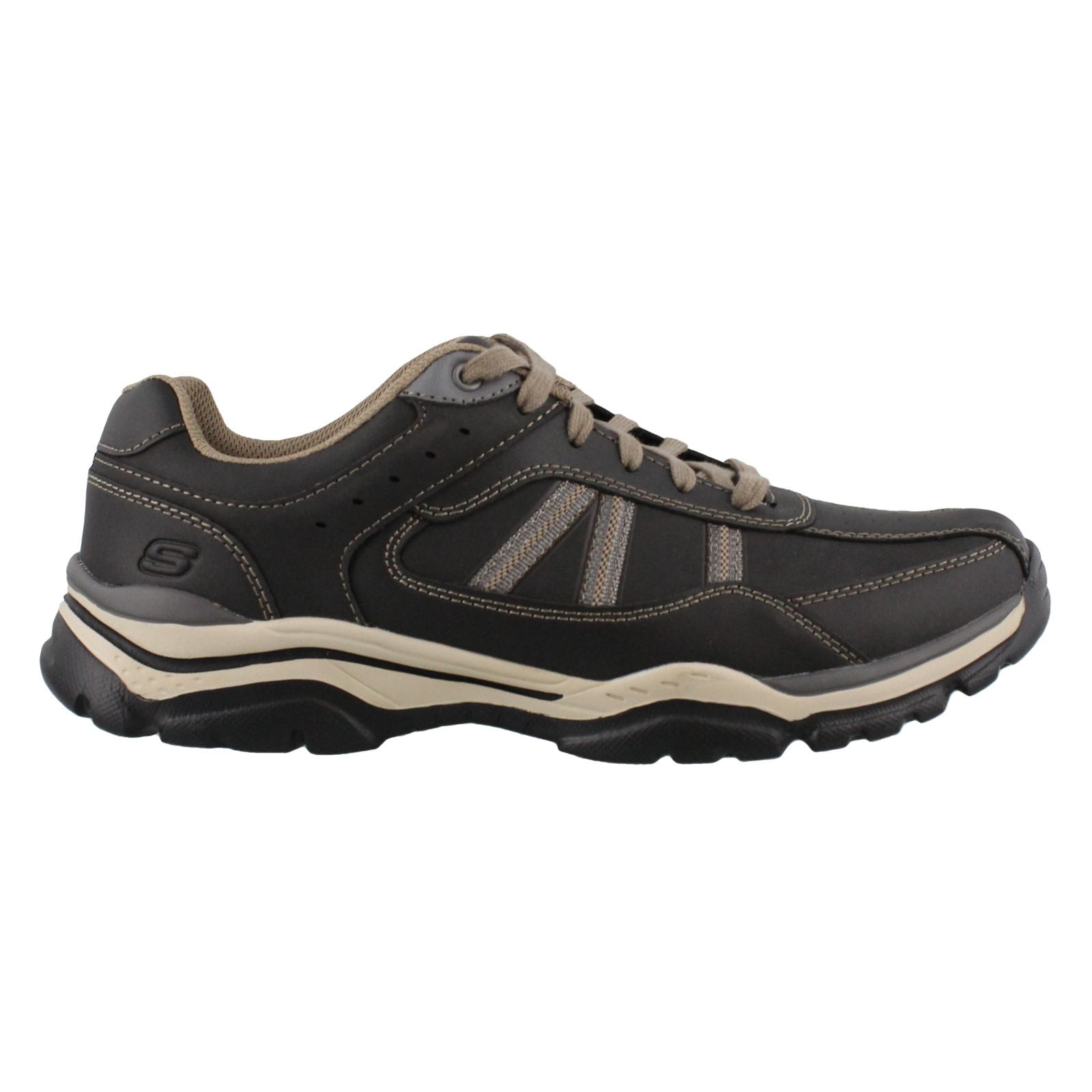 e2db8a45b61b0 Men's Skechers, Rovato Texon Lace up Shoes | Peltz Shoes