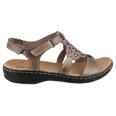 Women's Clarks, Leisa Taffy low heel comfortable Sandals