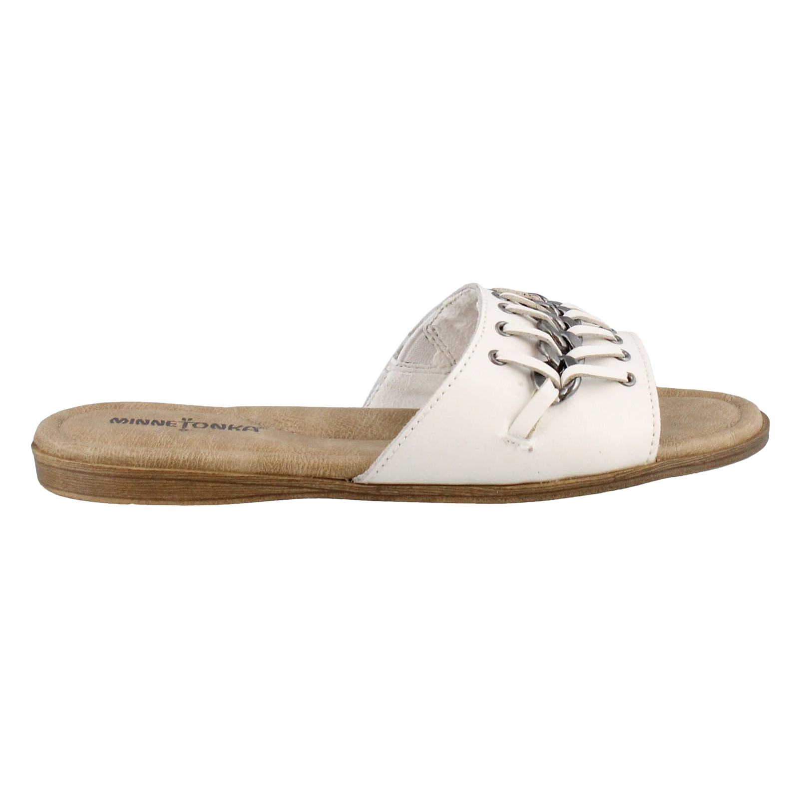 Women's Minnetonka, Paris Slide Sandals
