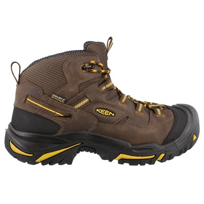 Men's Keen, Braddock Mid Waterproof Steel Toe Boot