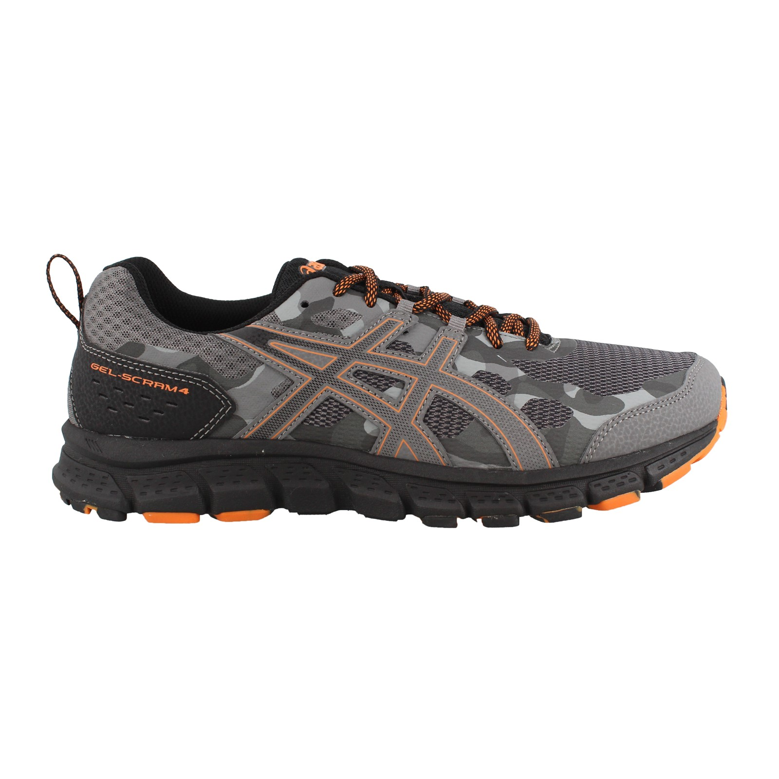 Men's Asics, Gel Scram 4 Trail Running Sneakers 4E Width