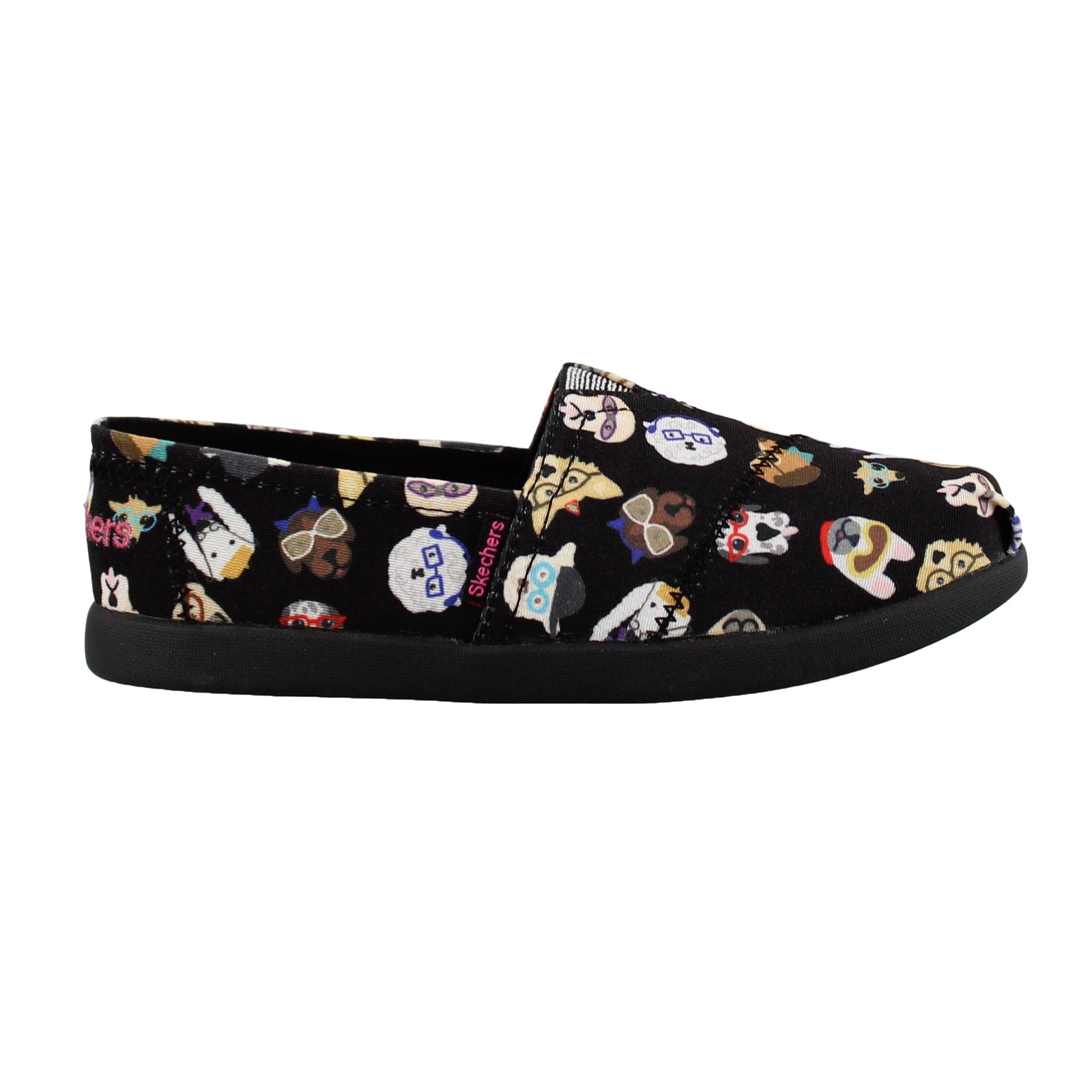 Girl's Skechers, Solestice Puppy Smarts Slip on Shoes