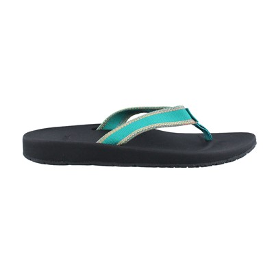 Women's Teva, Azure Flip Sandals