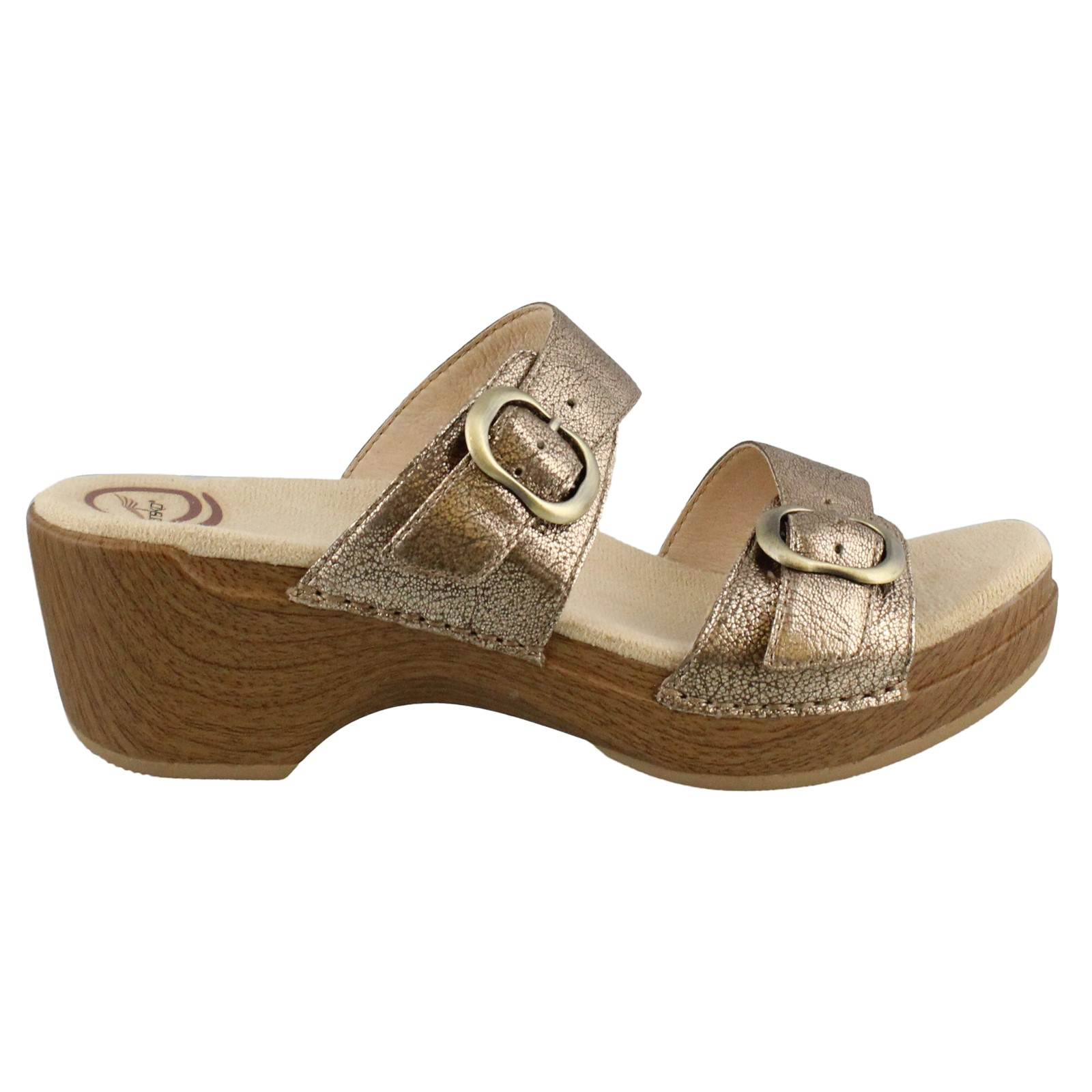Women's Dansko, Sophie two band slide Sandals