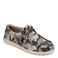 Men's Hey Dude, Wally Camo Slip-On