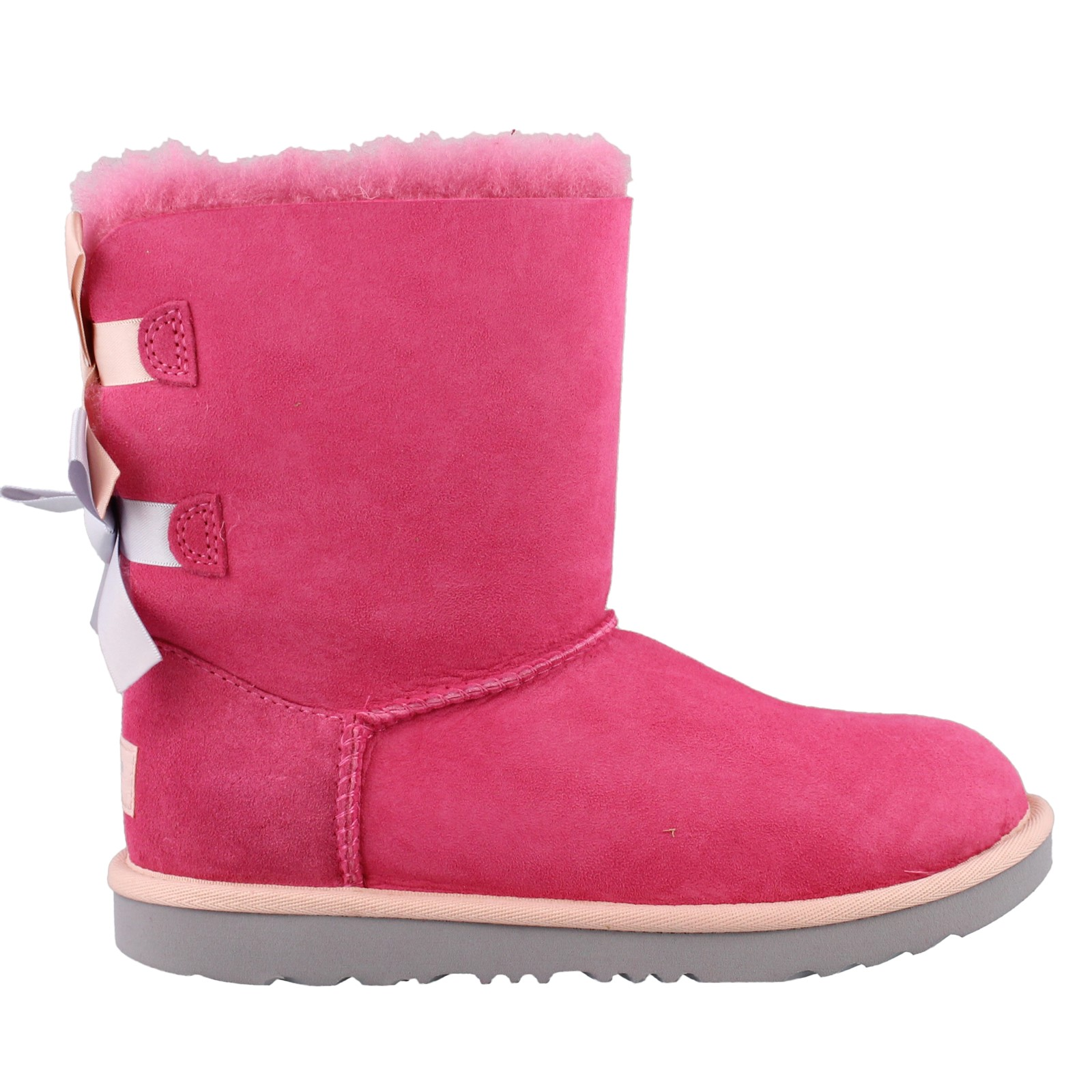 Girl's Ugg Kids, Bailey Bow II Sheepskin Boots